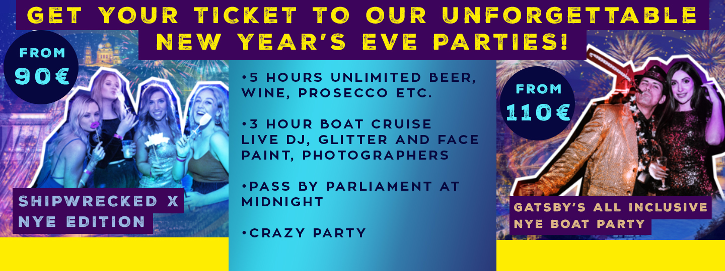 New Years Parties Banner